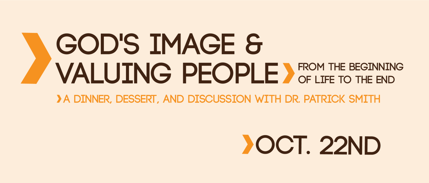 God's Image & Valuing People - Oct 22 2016 5:00 PM