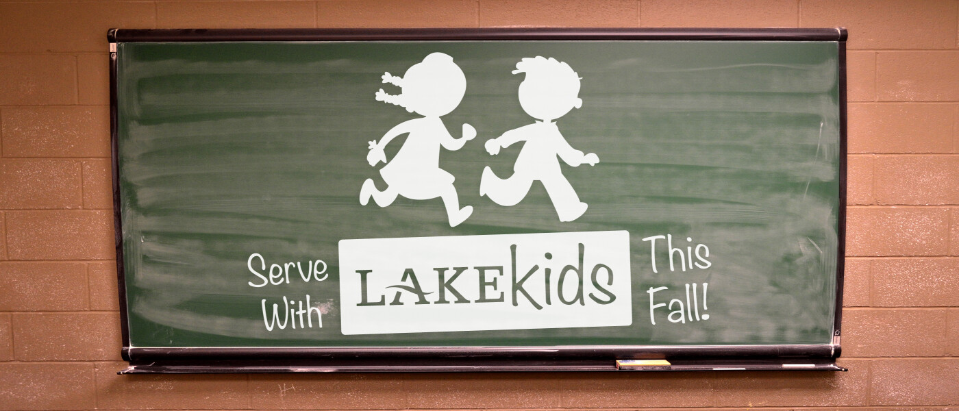 Serve with Lake Kids this Fall!