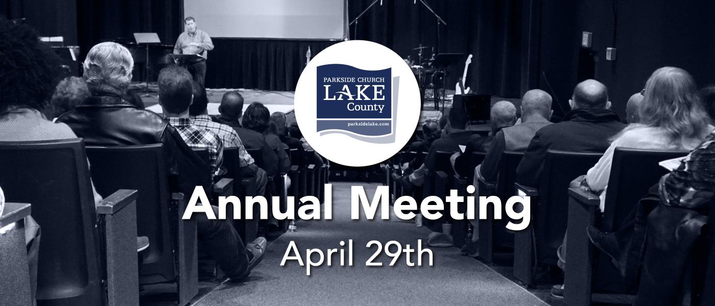 Annual Meeting - Apr 29 2018 11:30 AM